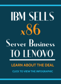 IBM Sells x86 server business to lenovo