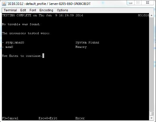 IBM Error10