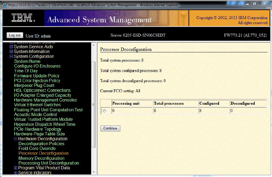 IBM Error 6