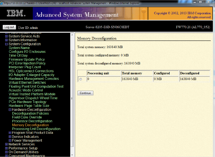 IBM Error 7