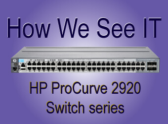 hp procurve 2920 switch series