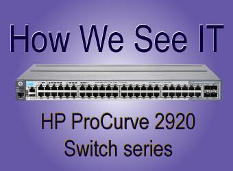 hp procurve 2920 switch series