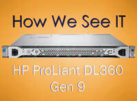 HP PROLIANT DL360 GEN9 SERVER