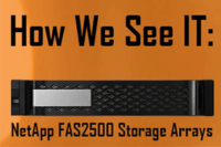Looking for a storage array that delivers great ROI, reduces operational cost and minimize risks for growth? The NetApp FAS2500 series is the answer.