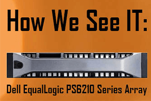 Dell EqualLogic PS6210 Series Array