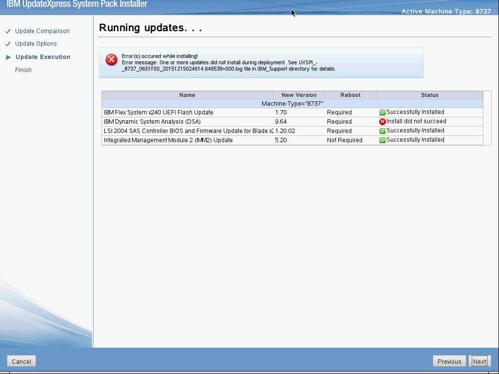 FixIT: IBM Flex System x240 Compute Node Firmware Update