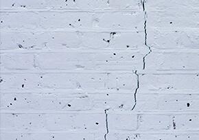 crack on floor