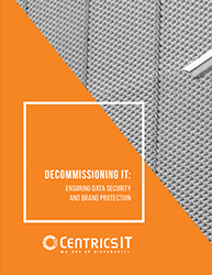 IT Decommission: Ensuring Data Security and Brand Protection E-Book