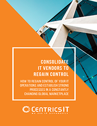 Consolidate IT Vendors to Regain Control [e-book]