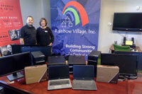 CentricsIT Donates Thousands of Dollars Worth in Computer to Rainbow Village